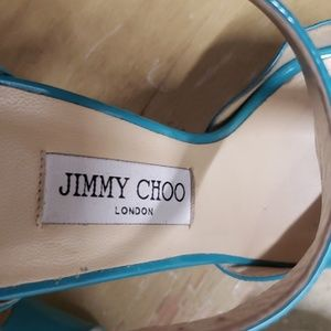 Jimmy Choo Shoes - JIMMY CHOO Patented leather heels. Size 40